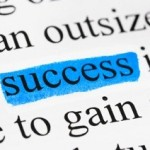 Word success in text